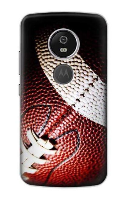S0062 アメリカンフットボール American Football Motorola Moto E5 Plus バックケース、フリップケース・カバー