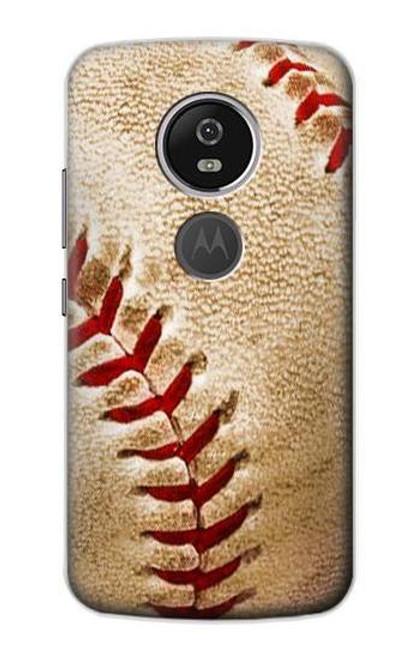 S0064 野球 ベースボール Baseball Motorola Moto E5 Plus バックケース、フリップケース・カバー