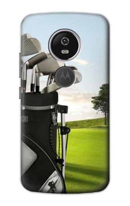S0067 ゴルフ Golf Motorola Moto E5 Plus バックケース、フリップケース・カバー