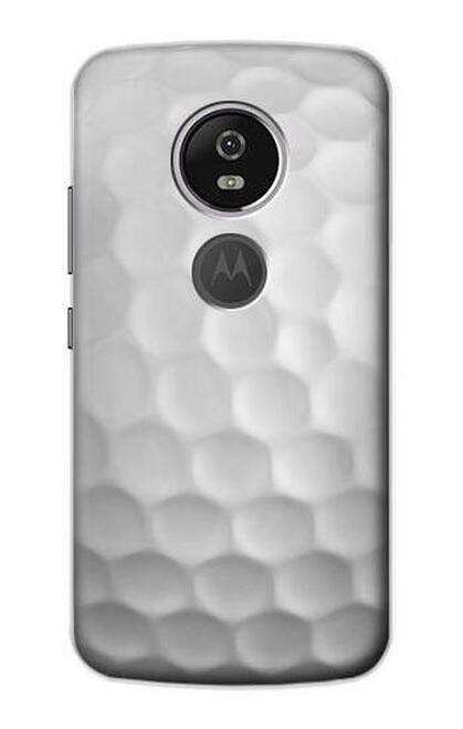 S0071 ゴルフボール Golf Ball Motorola Moto E5 Plus バックケース、フリップケース・カバー