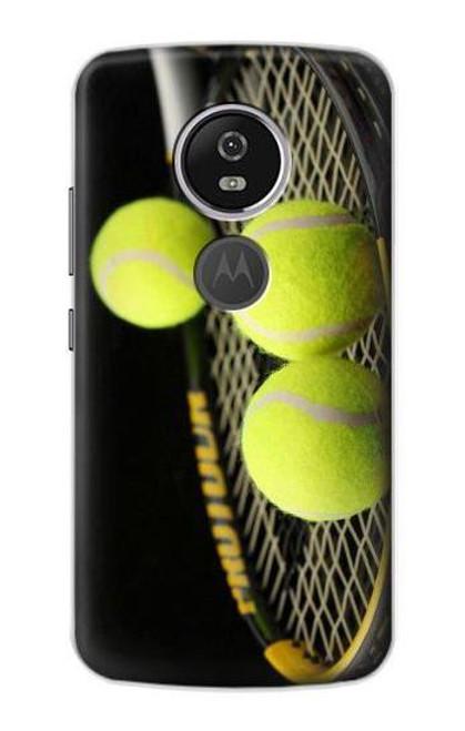 S0072 テニス Tennis Motorola Moto E5 Plus バックケース、フリップケース・カバー