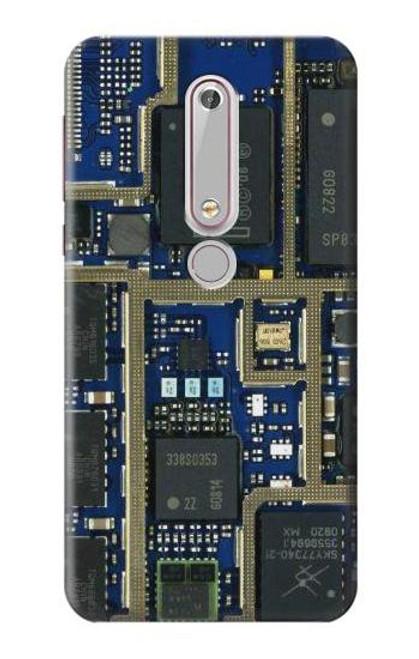 S0063 回路基板 Curcuid Board Nokia 6.1, Nokia 6 2018 バックケース、フリップケース・カバー