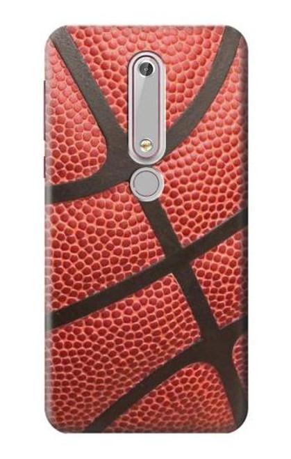 S0065 バスケットボール Basketball Nokia 6.1, Nokia 6 2018 バックケース、フリップケース・カバー