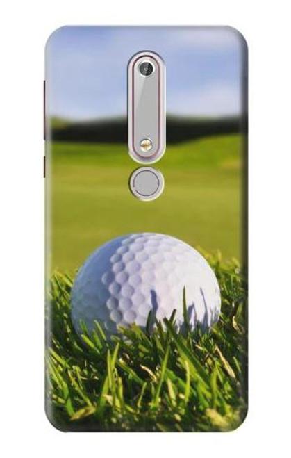 S0068 ゴルフ Golf Nokia 6.1, Nokia 6 2018 バックケース、フリップケース・カバー