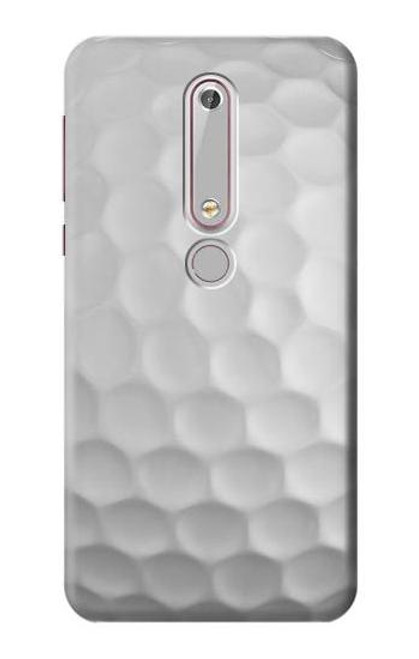 S0071 ゴルフボール Golf Ball Nokia 6.1, Nokia 6 2018 バックケース、フリップケース・カバー