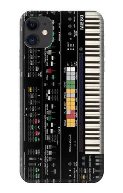 S0061 シンセサイザー Synthesizer iPhone 11 バックケース、フリップケース・カバー