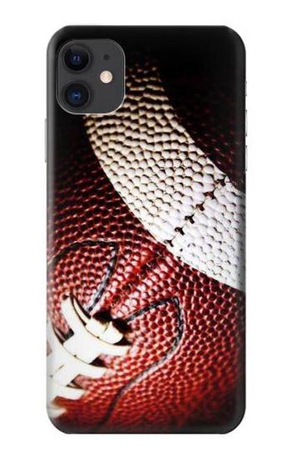 S0062 アメリカンフットボール American Football iPhone 11 バックケース、フリップケース・カバー