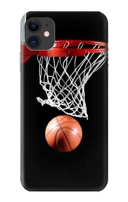 S0066 バスケットボール Basketball iPhone 11 バックケース、フリップケース・カバー