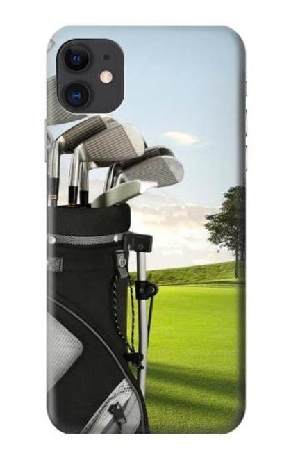 S0067 ゴルフ Golf iPhone 11 バックケース、フリップケース・カバー