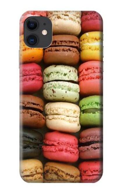 S0080 マカロン Macarons iPhone 11 バックケース、フリップケース・カバー