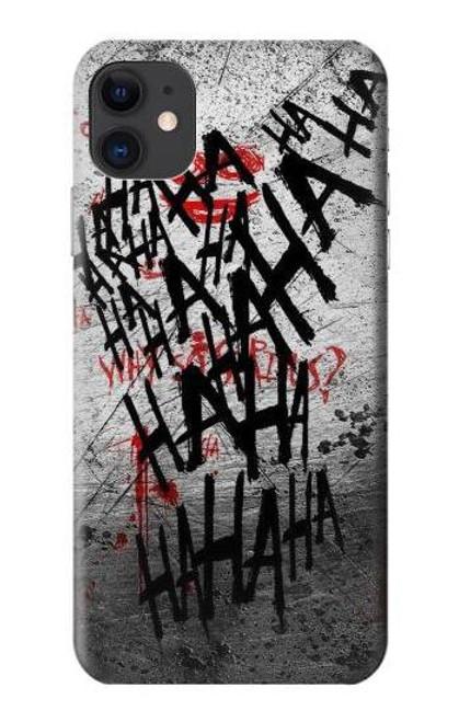 S3073 ジョーカー ハハハ・ブラッド・スプラッシュ Joker Hahaha Blood Splash iPhone 11 バックケース、フリップケース・カバー