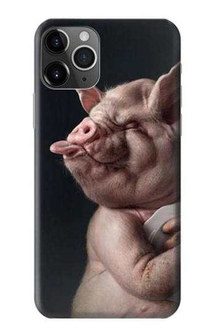 S1273 クレイジー豚 Crazy Pig iPhone 11 Pro バックケース、フリップケース・カバー