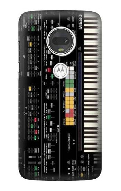 S0061 シンセサイザー Synthesizer Motorola Moto G7, Moto G7 Plus バックケース、フリップケース・カバー