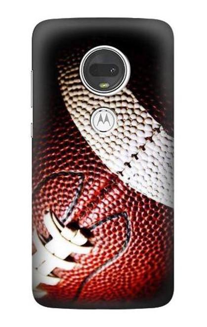 S0062 アメリカンフットボール American Football Motorola Moto G7, Moto G7 Plus バックケース、フリップケース・カバー