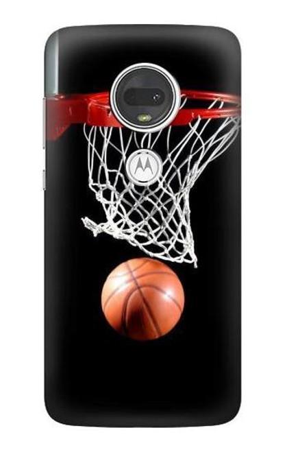 S0066 バスケットボール Basketball Motorola Moto G7, Moto G7 Plus バックケース、フリップケース・カバー