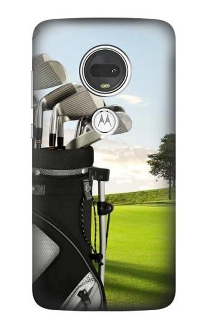 S0067 ゴルフ Golf Motorola Moto G7, Moto G7 Plus バックケース、フリップケース・カバー