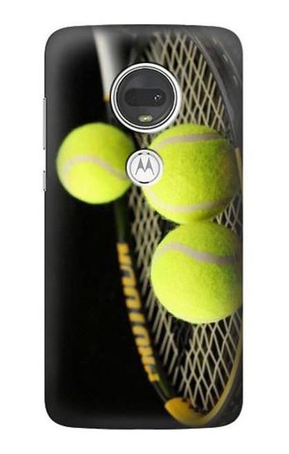 S0072 テニス Tennis Motorola Moto G7, Moto G7 Plus バックケース、フリップケース・カバー