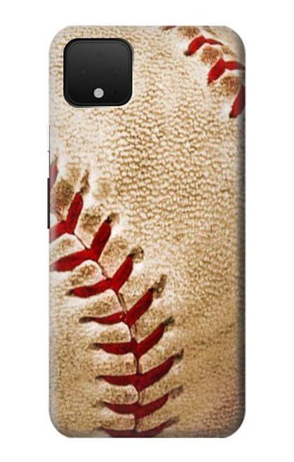 S0064 野球 ベースボール Baseball Google Pixel 4 バックケース、フリップケース・カバー