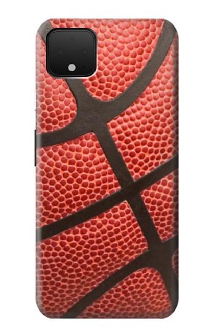 S0065 バスケットボール Basketball Google Pixel 4 バックケース、フリップケース・カバー