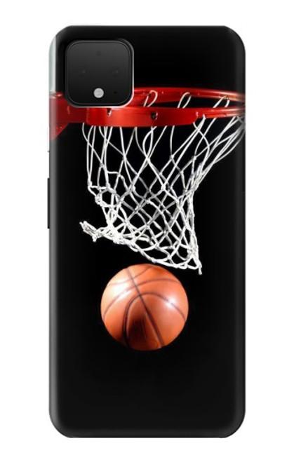 S0066 バスケットボール Basketball Google Pixel 4 バックケース、フリップケース・カバー
