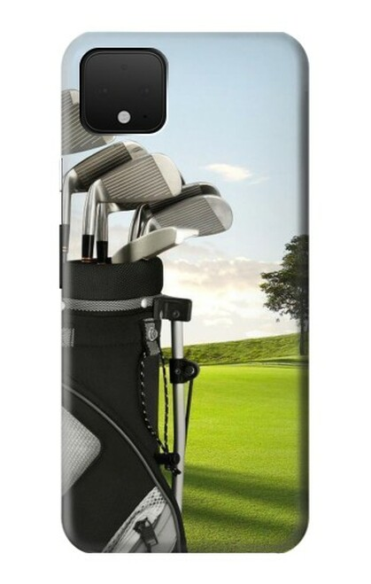 S0067 ゴルフ Golf Google Pixel 4 バックケース、フリップケース・カバー