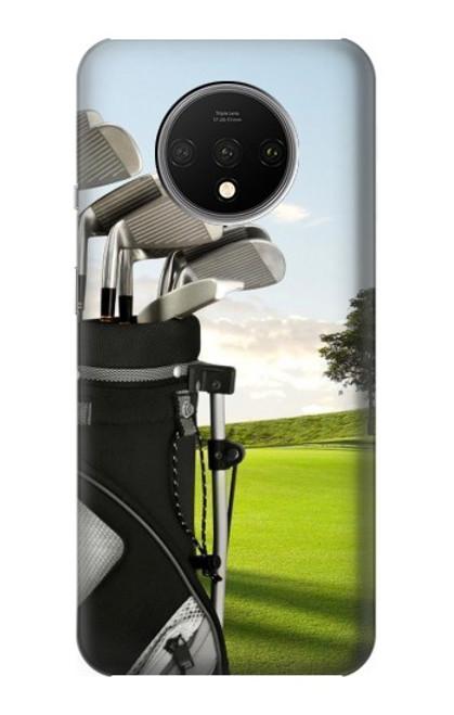 S0067 ゴルフ Golf OnePlus 7T バックケース、フリップケース・カバー