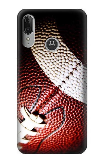 S0062 アメリカンフットボール American Football Motorola Moto E6 Plus, Moto E6s バックケース、フリップケース・カバー