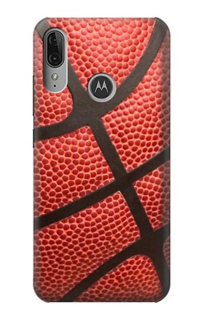 S0065 バスケットボール Basketball Motorola Moto E6 Plus, Moto E6s バックケース、フリップケース・カバー
