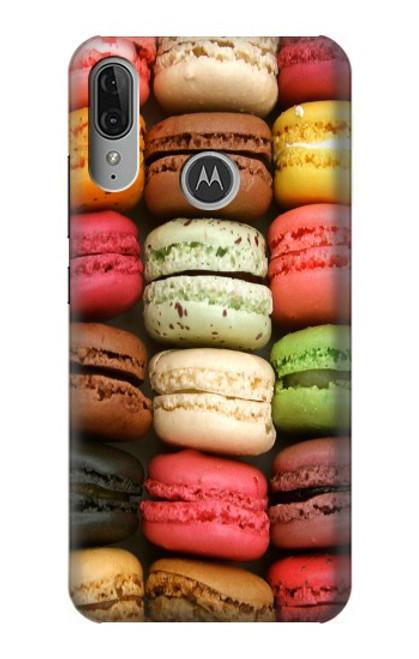 S0080 マカロン Macarons Motorola Moto E6 Plus, Moto E6s バックケース、フリップケース・カバー