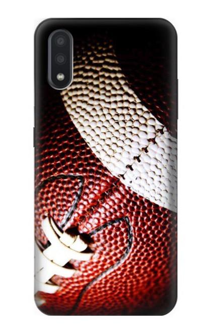 S0062 アメリカンフットボール American Football Samsung Galaxy A01 バックケース、フリップケース・カバー