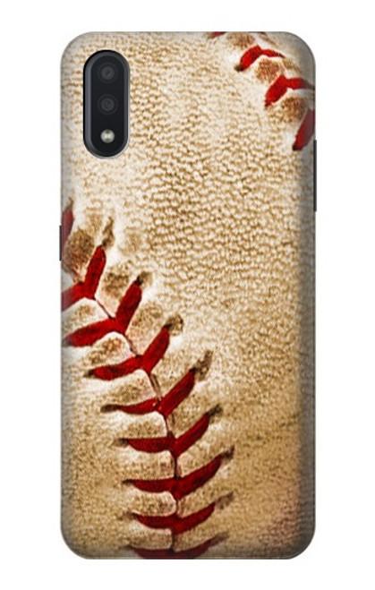 S0064 野球 ベースボール Baseball Samsung Galaxy A01 バックケース、フリップケース・カバー