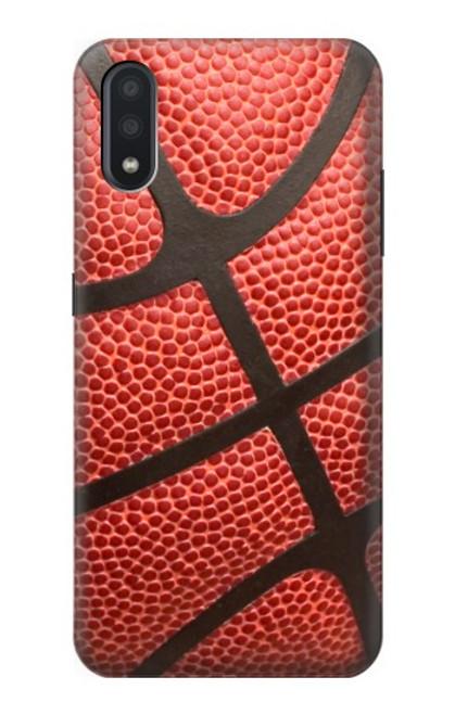 S0065 バスケットボール Basketball Samsung Galaxy A01 バックケース、フリップケース・カバー