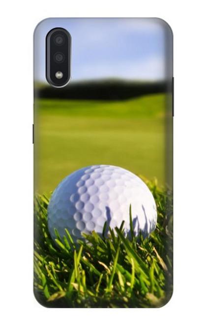 S0068 ゴルフ Golf Samsung Galaxy A01 バックケース、フリップケース・カバー