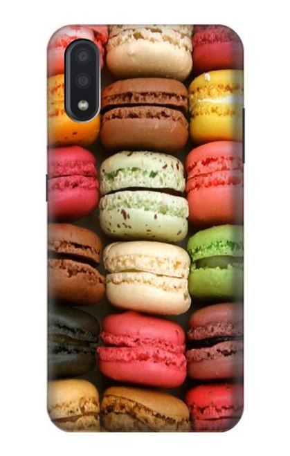 S0080 マカロン Macarons Samsung Galaxy A01 バックケース、フリップケース・カバー
