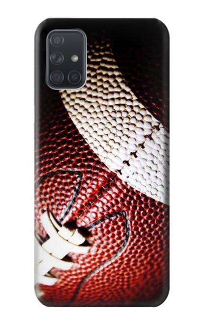 S0062 アメリカンフットボール American Football Samsung Galaxy A71 バックケース、フリップケース・カバー