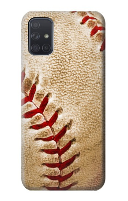 S0064 野球 ベースボール Baseball Samsung Galaxy A71 バックケース、フリップケース・カバー