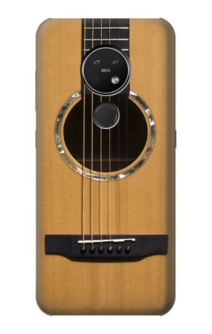 S0057 アコースティックギター Acoustic Guitar Nokia 7.2 バックケース、フリップケース・カバー
