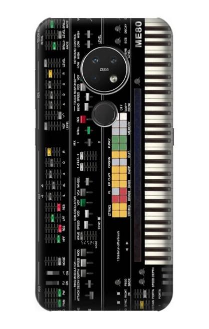 S0061 シンセサイザー Synthesizer Nokia 7.2 バックケース、フリップケース・カバー