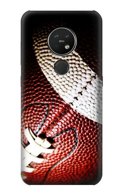 S0062 アメリカンフットボール American Football Nokia 7.2 バックケース、フリップケース・カバー