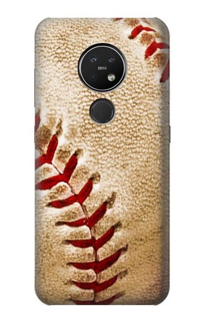 S0064 野球 ベースボール Baseball Nokia 7.2 バックケース、フリップケース・カバー