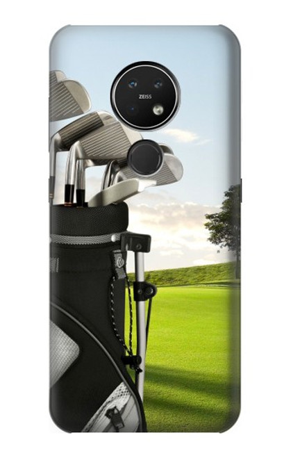 S0067 ゴルフ Golf Nokia 7.2 バックケース、フリップケース・カバー
