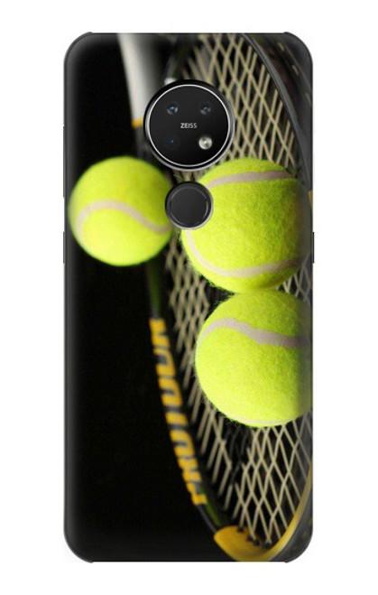 S0072 テニス Tennis Nokia 7.2 バックケース、フリップケース・カバー