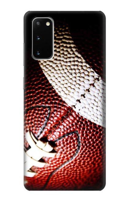 S0062 アメリカンフットボール American Football Samsung Galaxy S20 バックケース、フリップケース・カバー