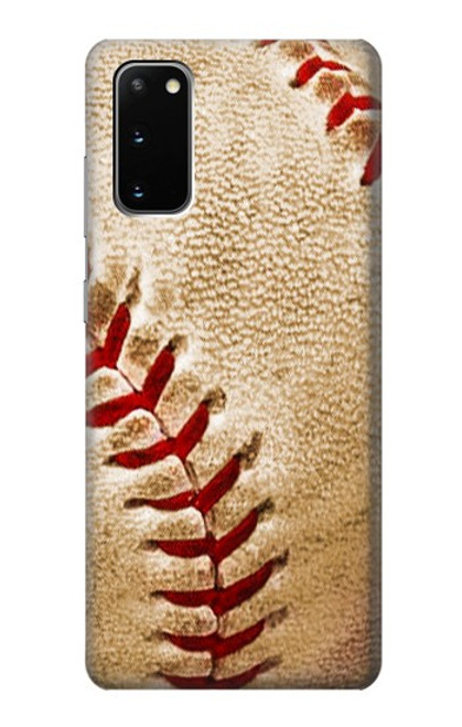 S0064 野球 ベースボール Baseball Samsung Galaxy S20 バックケース、フリップケース・カバー