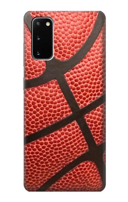 S0065 バスケットボール Basketball Samsung Galaxy S20 バックケース、フリップケース・カバー
