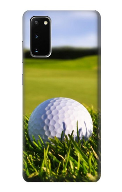 S0068 ゴルフ Golf Samsung Galaxy S20 バックケース、フリップケース・カバー