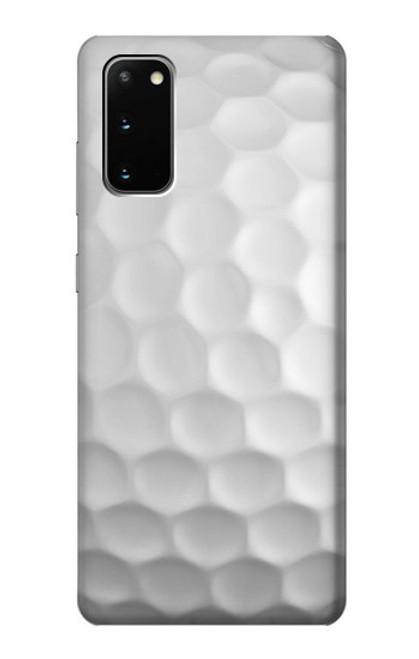 S0071 ゴルフボール Golf Ball Samsung Galaxy S20 バックケース、フリップケース・カバー
