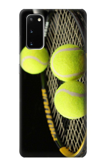 S0072 テニス Tennis Samsung Galaxy S20 バックケース、フリップケース・カバー