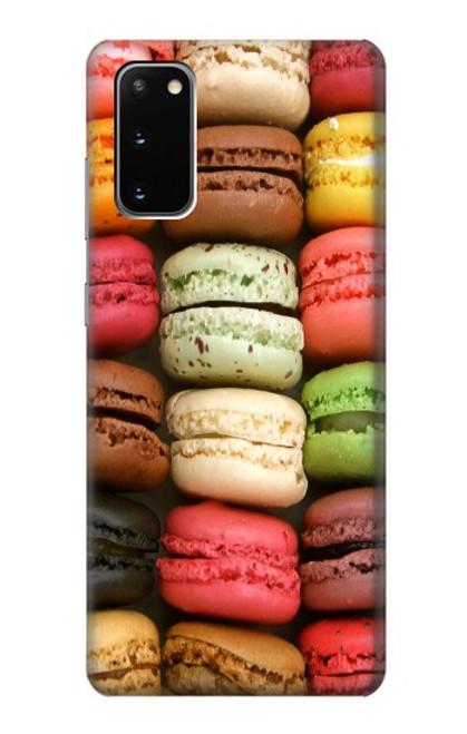 S0080 マカロン Macarons Samsung Galaxy S20 バックケース、フリップケース・カバー