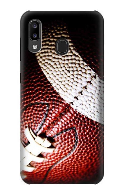S0062 アメリカンフットボール American Football Samsung Galaxy A20, Galaxy A30 バックケース、フリップケース・カバー